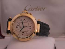 Pasha de Cartier 18k **SOLD**
