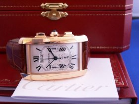 Cartier Tank Americaine 18k Rose Gold **SOLD**