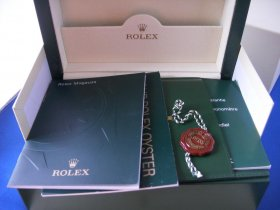 Rolex New style box for Milgauss