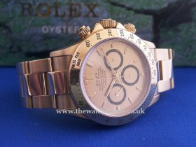 Rolex Daytona 18k , Zenith , 16528 **NOW SOLD**