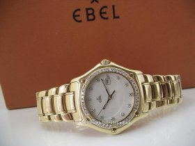 Ebel 1911 Full size 18k , diamond bezel model **SOLD**